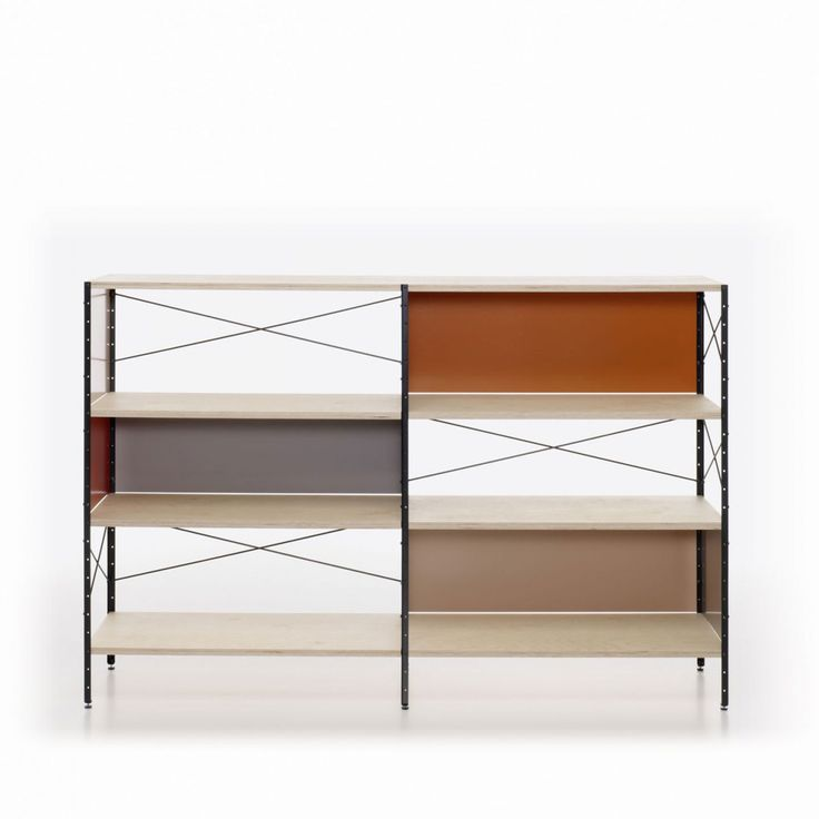 eames furniture design. esu eames storage unit shelving by charles and ray for vitra furniture design