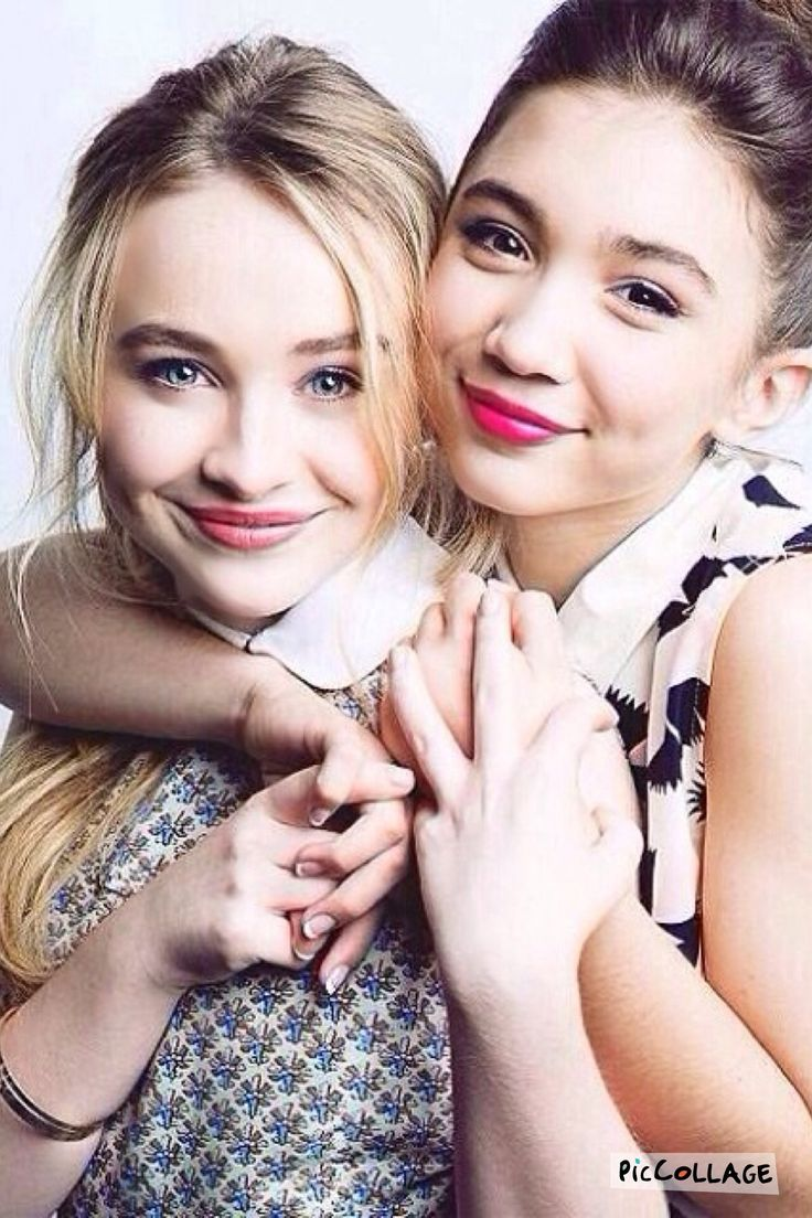 Sabrina Carpenter and Rowan Blanchard, my two favorite actresses ever!
