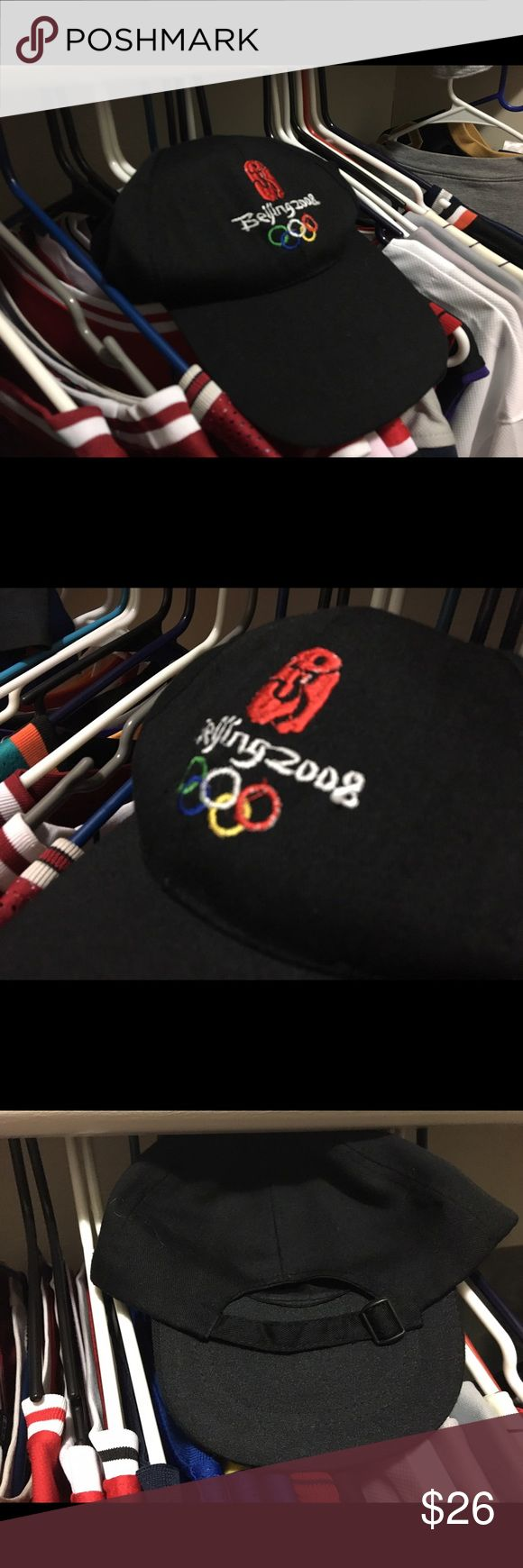 2008 Beijing Olympics StrapBack Great condition, no stains, lettering, number, & Olympic logo stitched, don't buy if you got a big head, bundle and get this has for 16$ Nike Accessories Hats