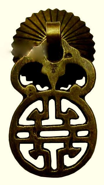 CHINESE HARDWARE / Traditional Brass / Door Handle / Cabinet Drawer Pull /  Supply / Door