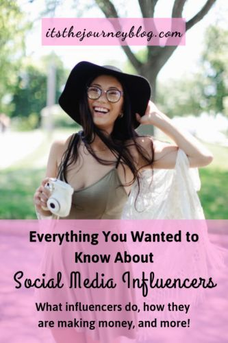 How Social Media Influencers Work