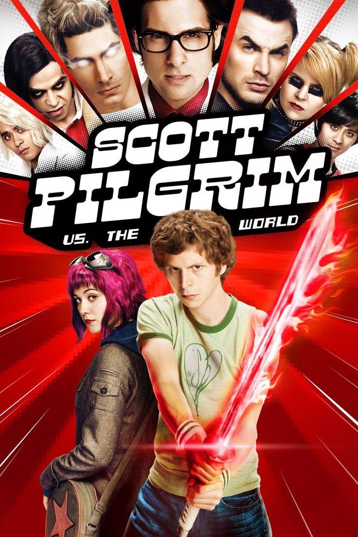 Scott Pilgrim Contra El Mundo es mi película favorita. Lo he visto 20 veces.