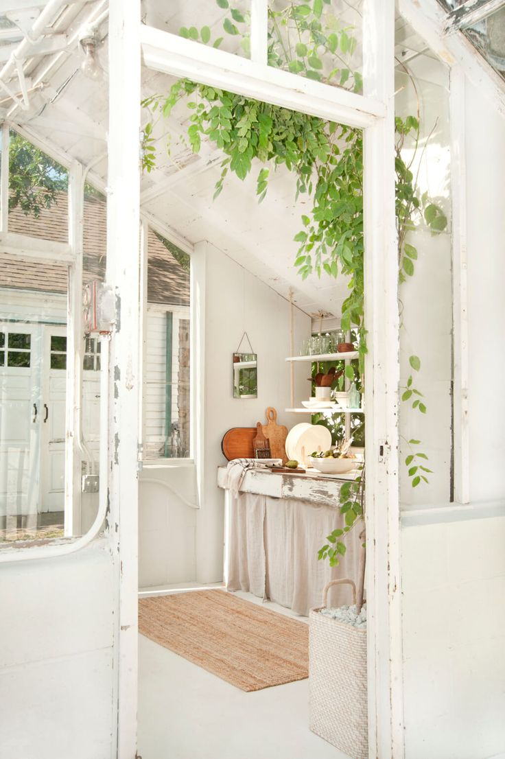 Emily Henderson Samsung The Frame My Scandinavian Home Greenhouse 54