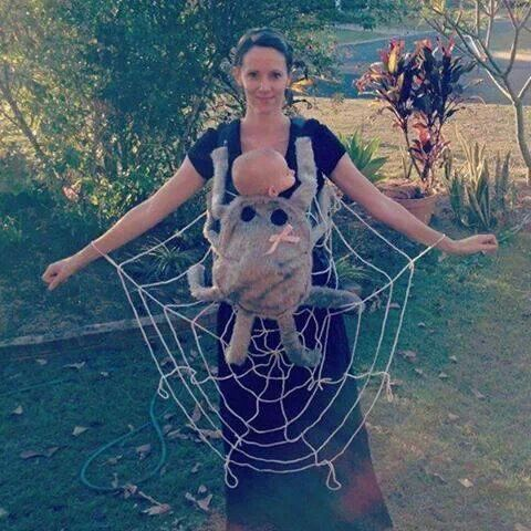 Mama & Baby Halloween Kostüm