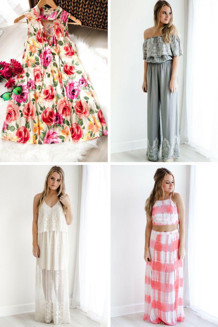 Spring dresses for festivals, weddings, easter, or the beach!