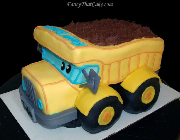 Dump Truck Cake Design : Best 25+ Dump truck cakes ideas on Pinterest Baby boy ...
