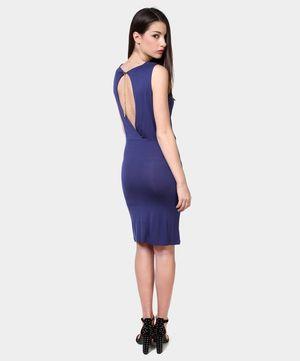 PHARD // Abito blue con scollo sulla schiena // oggi su www.privalia.com