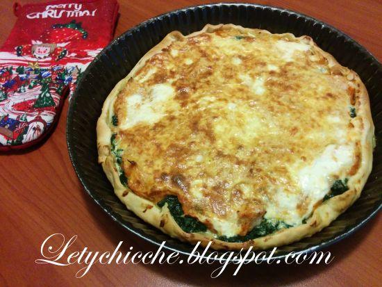 Letychicche: Quichè con zucca e spinaci