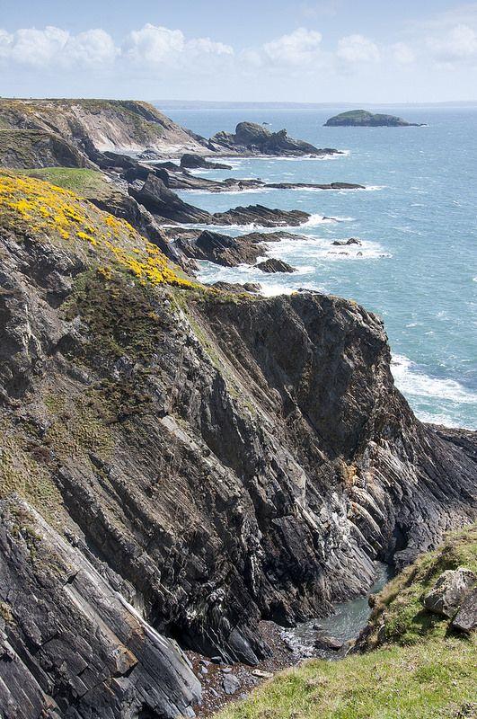 Pembrokeshire coast near Solva, Wales, UK - National Trust