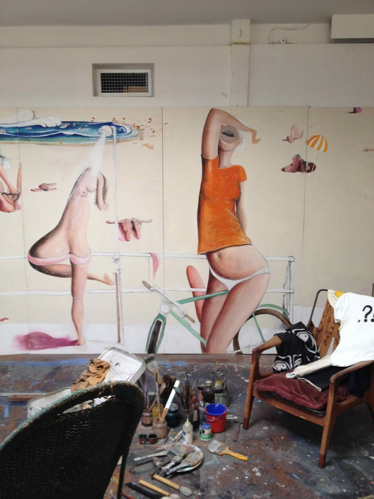 Brett Whiteley Gallery in Surry Hills.