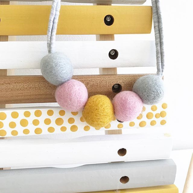 When we created these felt Ball Necklaces they were primarily for little ones but we have been sending our so many to Mums and they aint sharing! #treatyoself #whateveritis #youdeserveit #mumfashion