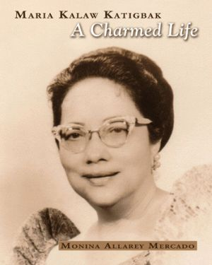 Maria Kalaw Katigbak Beauty Queen turned senator.  She was the former Manila Carnival Queen of 1931 and in 1961, she entered politics and became a senator.