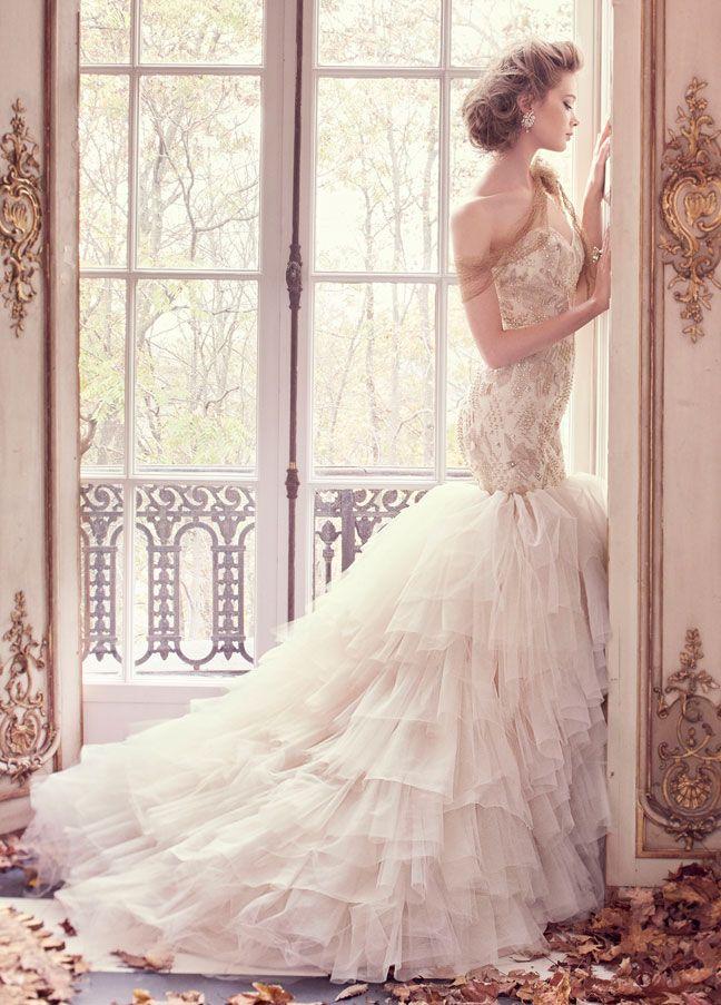 17 Best Images About Lazaro Wedding Dresses On Pinterest
