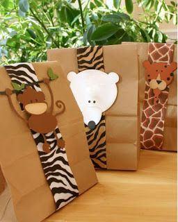 Party Frosting: Zoo/Safari Party Ideas and Inspiration