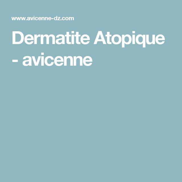 Dermatite Atopique - avicenne