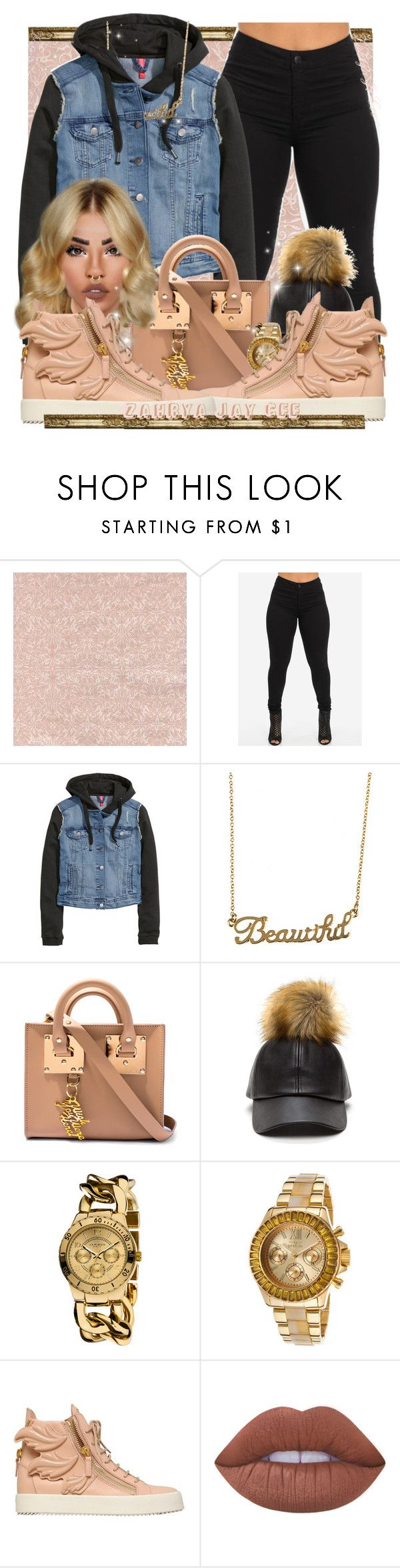 """""""Through The Wire By: Kanye"""" by sphereoflightmovement ❤ liked on Polyvore featuring H&M, Forever 21, Sophie Hulme, Akribos XXIV, Invicta, Giuseppe Zanotti, Lime Crime and Charlotte Russe"""