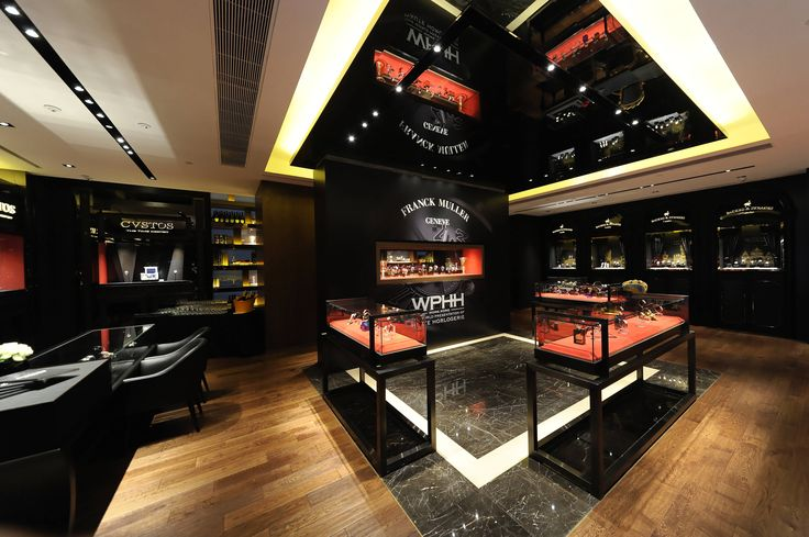Backes & Strauss shop-in-shop at Maison FRANCK MULLER Hong Kong.