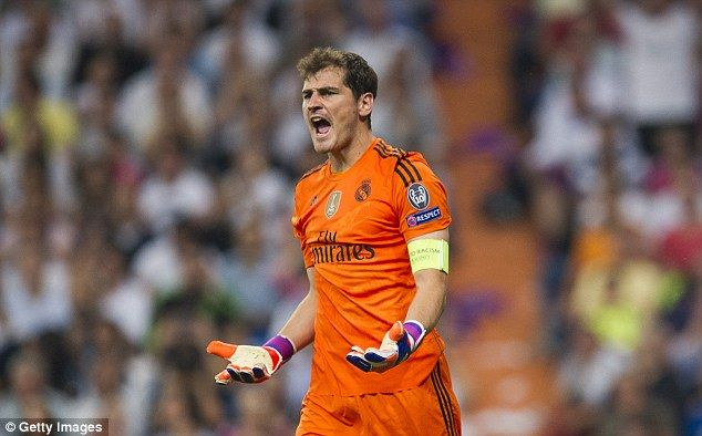 Casillas is set to discuss his future with Real Madrid in the summer with president Florentino Perez