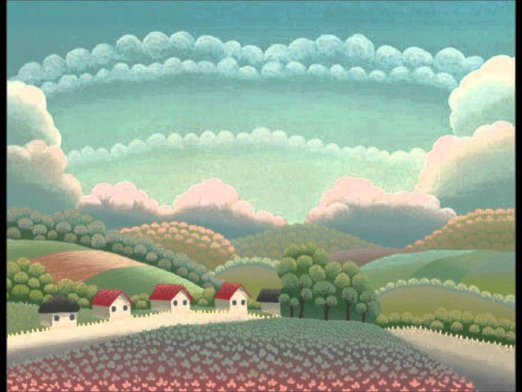 Mooie compilatie van het dromerige werk van de Kroatische schilder Ivan Rabuzin.
