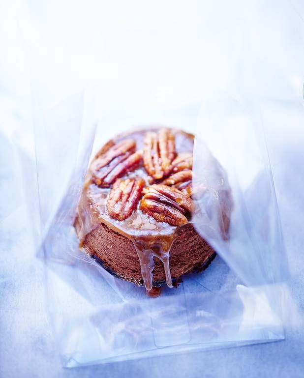 Brownies aux noix de pécan et caramel pour 6 personnes - Recettes Elle à Table