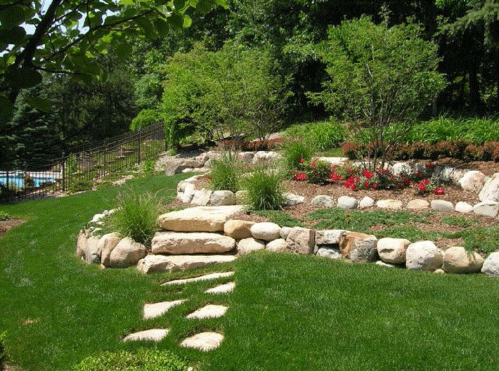 Garden Ideas On A Hill backyard landscaping ideas with the hill | outdoors | pinterest