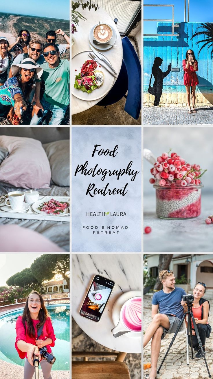 Food Photography Retreat with Healthy Laura @healthylauracom the Nomad Escape by Healthy Laura Food Photography