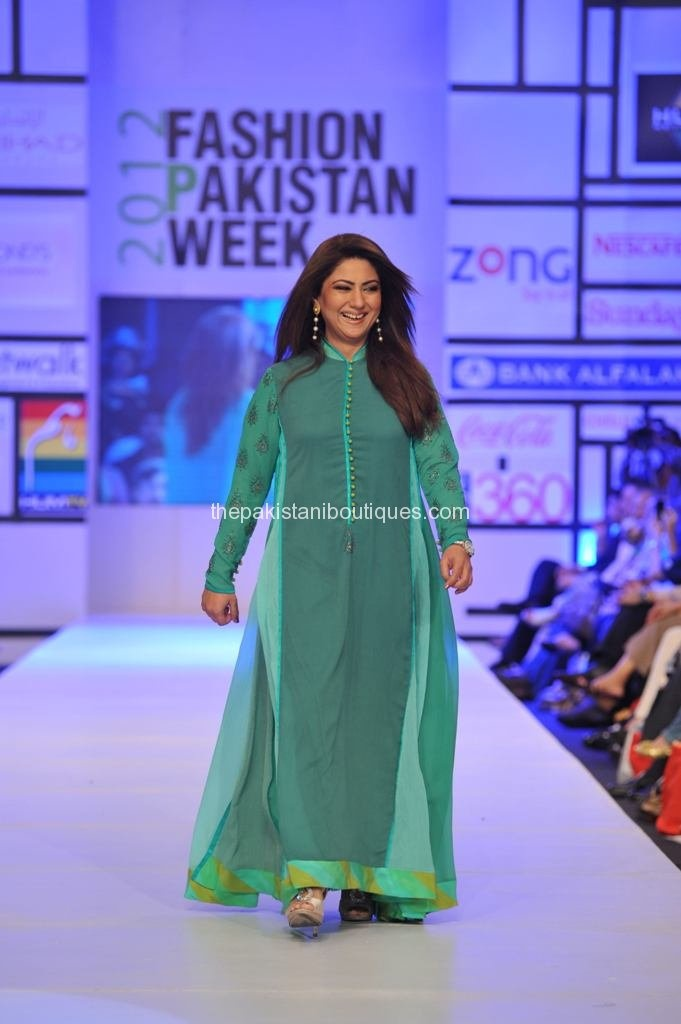 FPW 3 Nomi Ansari Collection at Fashion Pakistan Week 2012 Day 3