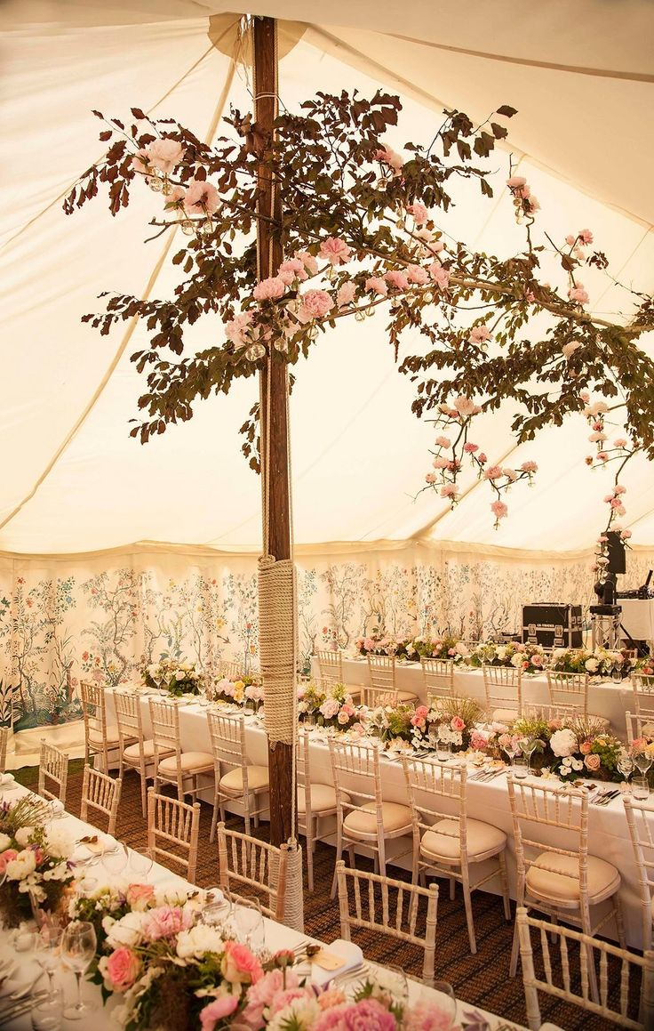 This Vogue Wedding in the English Countryside Is Pure Magic via @WhoWhatWearUK