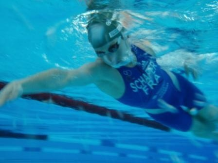 triathlon iron man natation