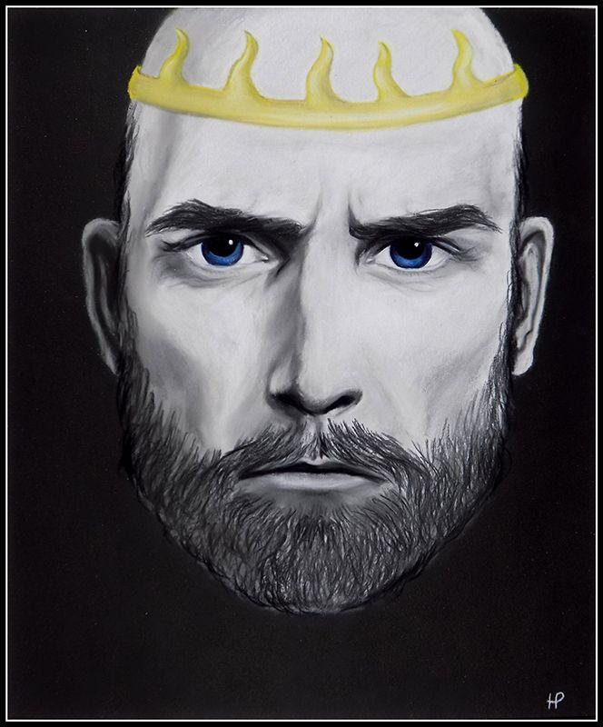 Stannis Baratheon (art by Anastasia Robozeeva)