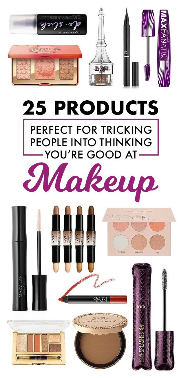25 Products Perfect For Tricking People Into Thinking You're Good At Makeup