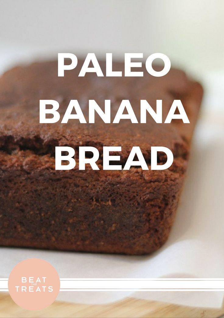 Paleo Banana Bread | Breakfast Recipe | Allergies Friendly Recipe | Diary Free | Gluten Free | Refined Sugar Free | Soy Free