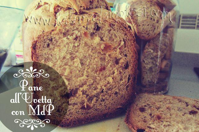 Pane con Uvetta tipo Panettone: Eccezionale!