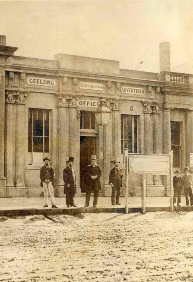 Former Geelong Advertiser building