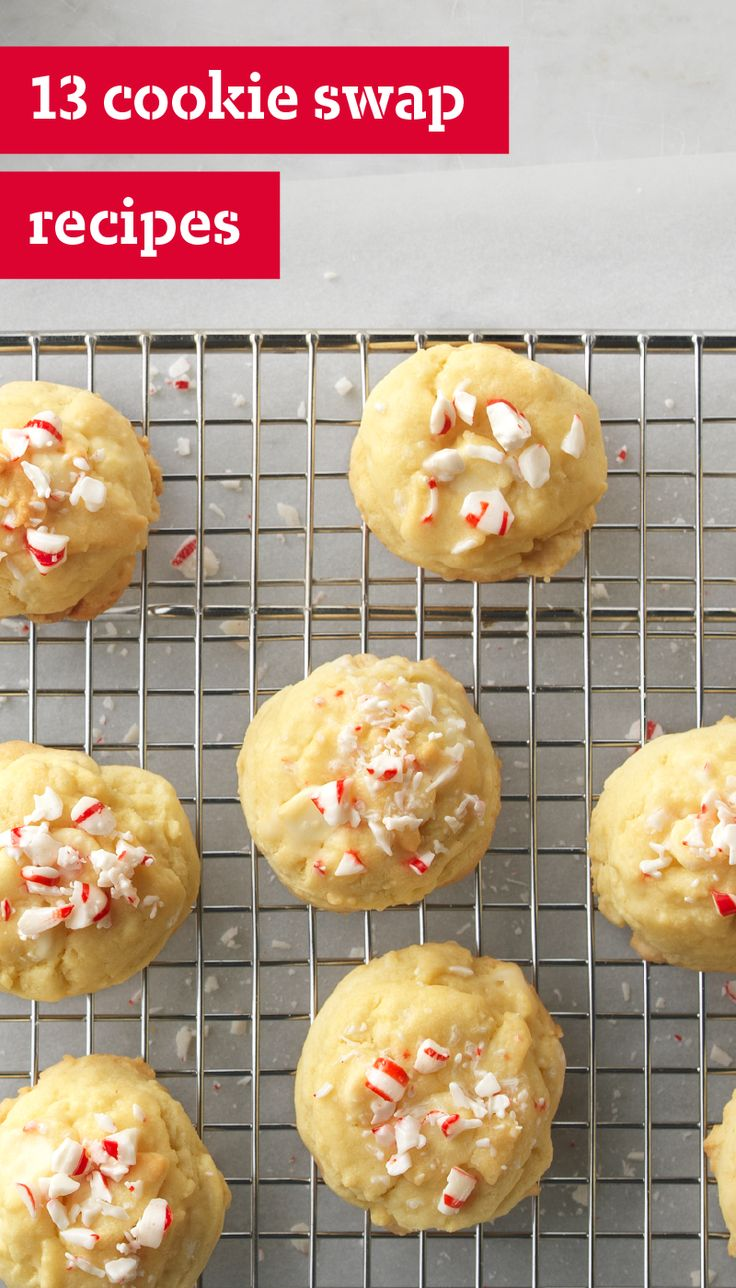 13 Cookie Swap Recipes – Cookie Exchanges are a wonderful holiday tradition. So break out the baking tools, and get ready to create some of these delicious cookie recipes. These are the quintessential baked goods you will need!