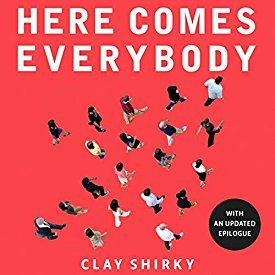 """Another must-listen from my #AudibleApp: """"Here Comes Everybody: The Power of Organizing Without Organizations"""" by Clay Shirky, narrated by Eric Michael Summerer."""