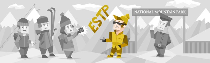 """Zach's results:  ESTP Personality (""""The Entrepreneur"""") 