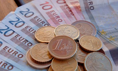 ECONOMY: The currency in Greece is in Euros. $1 US Dollar equals 78 cents in Greece. Currently 1 Euro is $1.27, it changes everyday