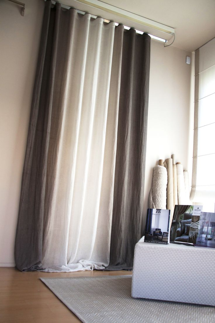 the 68 best images about home on pinterest | linen curtains ... - Arredamento Design Tende