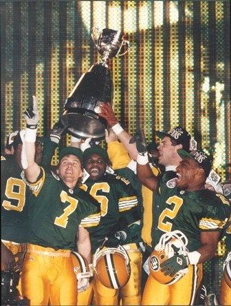 Edmonton Eskimos 1993 Grey Cup Champions
