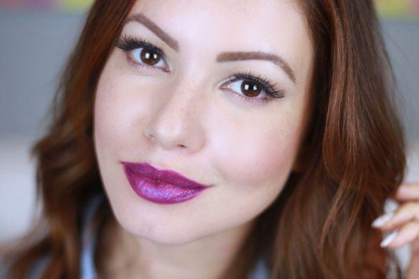 juliana goes | juliana goes blog | batom roxo | batom roxo nacional | batom vult 72 | batom dailus fru fru | batom eudora soul roxo