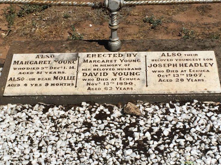 Margaret Young | Billion Graves Headstone, Cemetery, and Grave Record | Echuca, Victoria, Australia 13318998