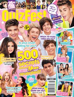 In This Issue YAY looky! 500 secrets about celebs revealed! YGST  You gotta see this