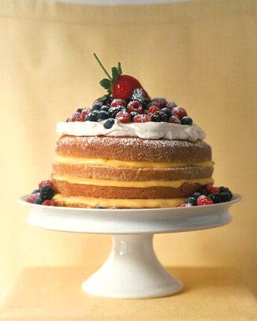 Lemon Cake: Desserts Recipe, Layered Cakes, Lemon Cakes Recipe, Marthastewart, 1234, 1 2 3 4 Lemon, Martha Stewart, Food Recipe, Whipped Cream