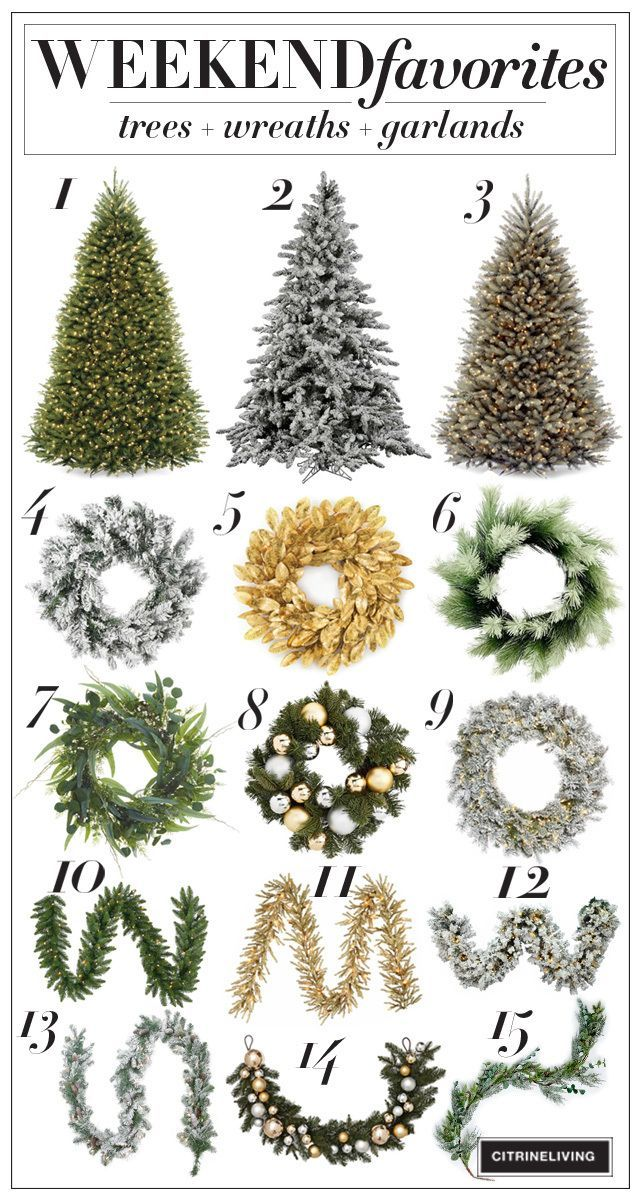 Christmas Trees Wreaths Garlands Beautiful Christmas Trees Shabby Chic Christmas Decorations Holiday Christmas Tree