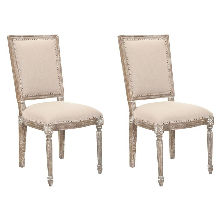 safavieh andrew grey side chairs set of 2 overstockcom shopping