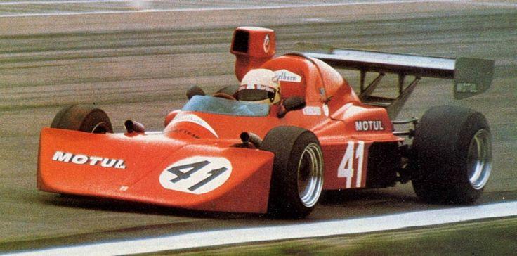 Arturo Merzario - Osella FA2 BMW - Osella Squadra Corse - I B.R.D.C. F2 European Championship Race 1975
