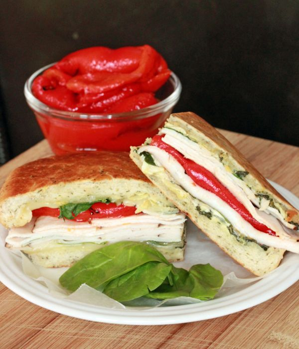 Castle Wood Turkey Artichoke Panini | sandwiches, wraps, paninis ...