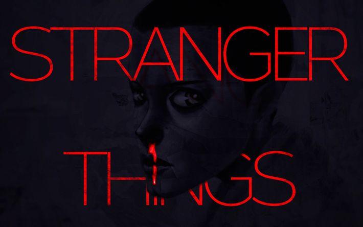 Download wallpapers Stranger Things, art, poster, 2017 movies, TV Series