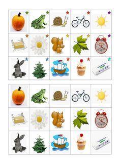 Voici un jeu de Memory constitué de 90 cartes dont le but est de retrouver les paires de mots qui riment.         Pour les débutants, les c...